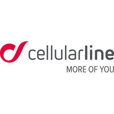 Cellularline Cosmic Cable - Lightning Cavo USB con cinturino in silicone Rosso