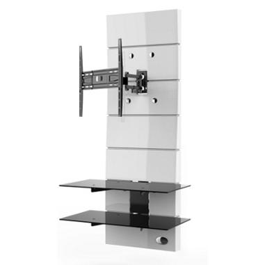 Meliconi Porta Tv Ghost Prezzi.Meliconi Ghost Design 3000 Rotation 63 Bianco Supporti Tv