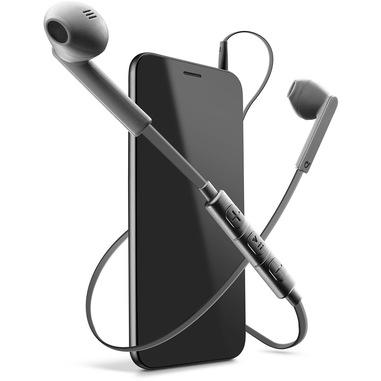 Cellularline MANTIS PRO - Universale Auricolari stereo a capsula con microfono e remote control universale Grigio