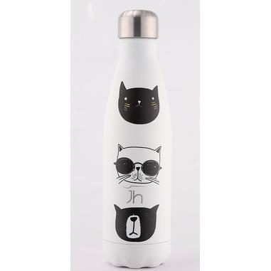 Joia Home Bottiglia termica Decoro Gatti