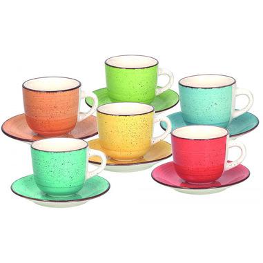 Tognana Porcellane LS18502M043 tazza Multicolore Caffè 6 pezzo(i)