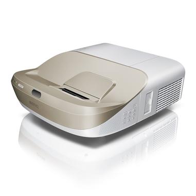 Benq W1600UST videoproiettore 3300 ANSI lumen 1080p (1920x1080) Proiettore desktop Oro, Bianco