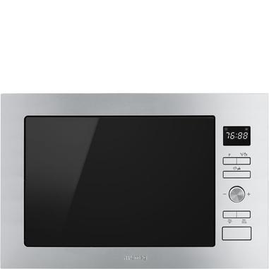 Smeg FMI425X forno a microonde Incasso Microonde con grill 25 L 900 W Acciaio inossidabile