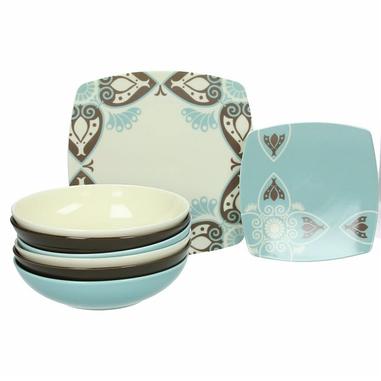 Tognana Porcellane Servizio piatti da tavola 18 pezzi Area Cool