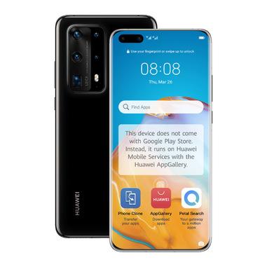 """Huawei P40 Pro 16,7 cm (6.58"""") 8 GB 256 GB Dual SIM ibrida 5G USB tipo-C Nero Android 10.0 Huawei Mobile Services (HMS) 4200 mAh"""