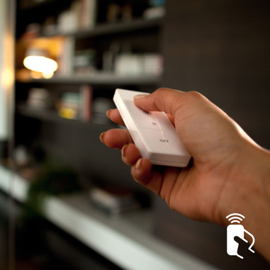 Philips Hue Dimmer Switch Telecomando Wireless a Batteria per Sistema Philips Hue, Bianco