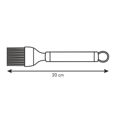 Tescoma 638643 Silicone Nero, Grigio, Argento pennello da cucina