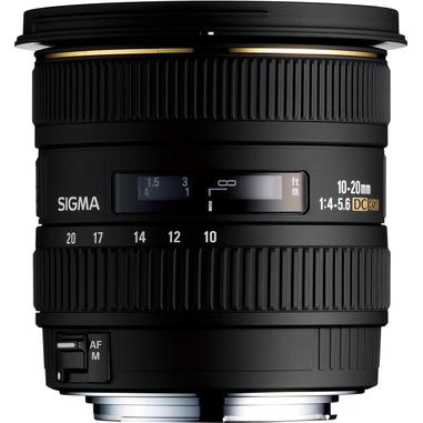 Sigma 10-20mm F4-5.6 EX DC HSM Sony/Konica