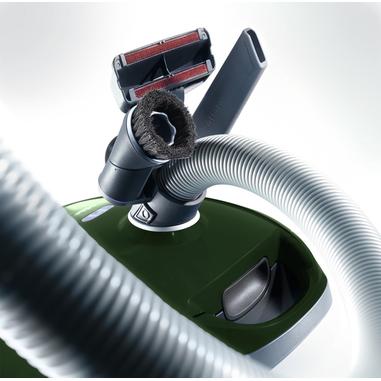 Miele Compact C2 Excellence Hardfloor EcoLine - SDRG1 Cilindro 3.5L 800W A Verde, Grigio, Aspirapolvere con sacco