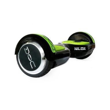 Nilox DOC HOVERBOARD BLACK 6.5 10km/h 4300mAh Nero, Verde