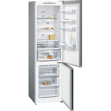 Siemens iQ300 KG39NVI35 frigorifero con congelatore Libera installazione Acciaio inossidabile 366 L A++