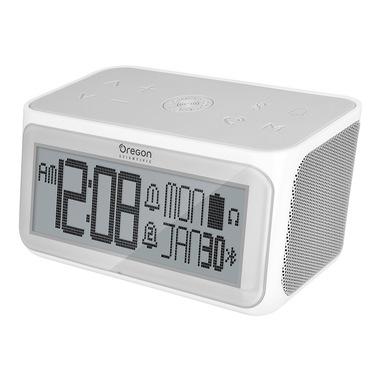Oregon Scientific RA389 sveglia Sveglia digitale Grigio, Bianco