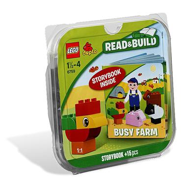 LEGO DUPLO Costruzioni la fattoria, leggi e costruisci