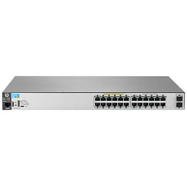 Hewlett Packard Enterprise Aruba 2530 24G PoE+ 2SFP+ Gestito L2 Gigabit Ethernet (10/100/1000) Supporto Power over Ethernet (PoE) 1U Grigio