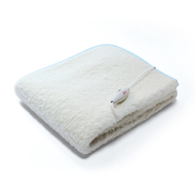 Ardes AR4F12 coperta/cuscino elettrico Coperta elettrica 62 W Bianco Lana
