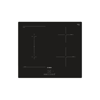 Bosch Serie 4 PVS611BB5E piano cottura Nero Incorporato 60 cm A induzione 4 Fornello(i)