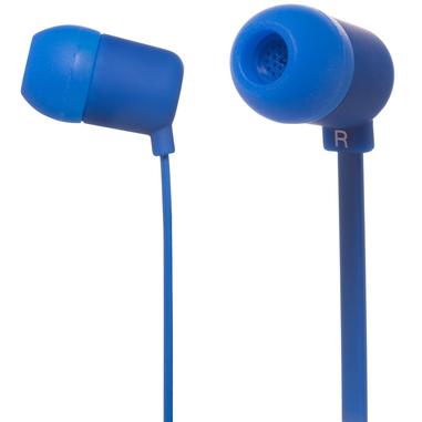 MySound Speak FLUO Auricolare Stereofonico Cablato Blu auricolare per telefono cellulare