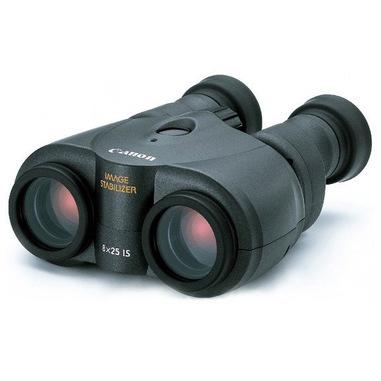 Canon 8×25 IS binocolo Porro II Nero