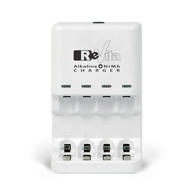 ReVita RV1 Caricabatteria per interni Bianco carica batterie