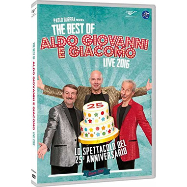 The Best of Aldo Giovanni e Giacomo - Live 2016 (DVD)