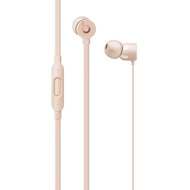 Apple Urbeats 3 auricolare in EAR con microfono e connessione lighting oro opaco