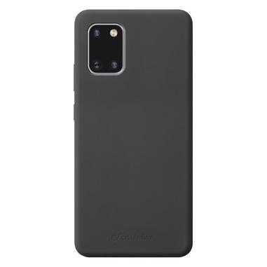 Cellularline Sensation - Galaxy A91 / Galaxy S10 Lite Custodia in silicone soft touch Nero