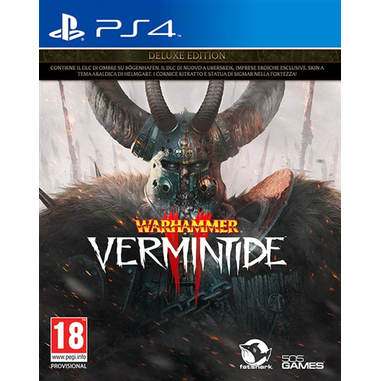Warhammer Vermintide 2 Deluxe Edition (PS4) videogioco PlayStation 4 Basic