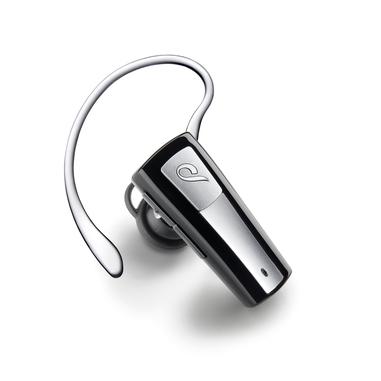 Cellularline BTMICRO5 Aggancio, Auricolare Monofonico Bluetooth Nero, Grigio cuffia