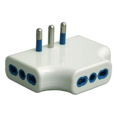 Garanti 87220-G adattatore per presa di corrente Tipo L (IT) Bianco