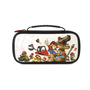 Bigben Interactive NNS57 custodia deluxe Super Mario Odyssey per Nintendo Switch, Nero