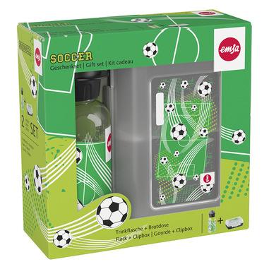 EMSA Bimbo-Set Regalo con Borraccia e Variabolo Soccer