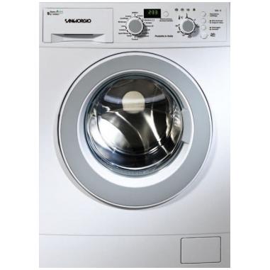 SanGiorgio SEN1012D lavatrice Libera installazione Caricamento frontale Bianco 10 kg 1200 Giri/min A+++