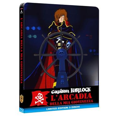 Capitan Harlock: L'Arcadia della Mia Giovinezza (Blu-ray)2D ITA,JPN Edizione speciale/limitata