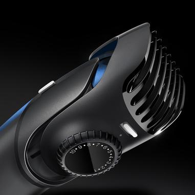 Braun BT5030 Nero, Blu regolabarba