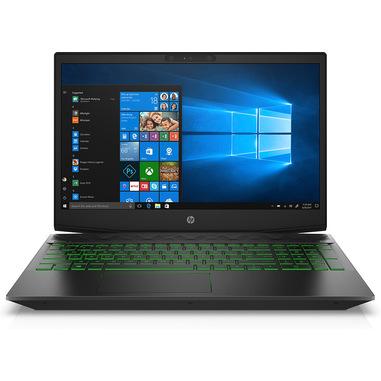 """HP Pavilion Gaming 15-cx0007nl Computer portatile Nero, Verde 39,6 cm (15.6"""") 1920 x 1080 Pixel Intel® Core™ i7 di ottava generazione 16 GB DDR4-SDRAM 1256 GB HDD+SSD NVIDIA® GeForce® GTX 1050 Ti Wi-Fi 5 (802.11ac) Windows 10 Home"""