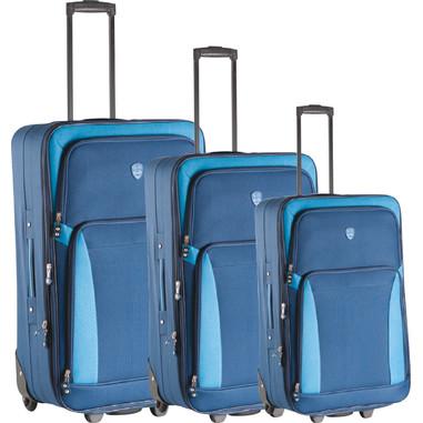 Laser Set di trolley piccolo, medio e grande, blu