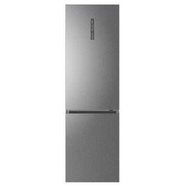 Haier 2D 60 Serie 5 C3FE837CGJ frigorifero con congelatore Libera installazione 377 L D Titanio, Argento