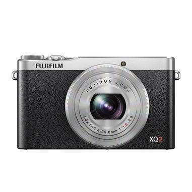 """Fujifilm XQ2 Fotocamera compatta 12 MP CMOS II 4000 x 3000 Pixel 2/3"""" Nero, Argento"""