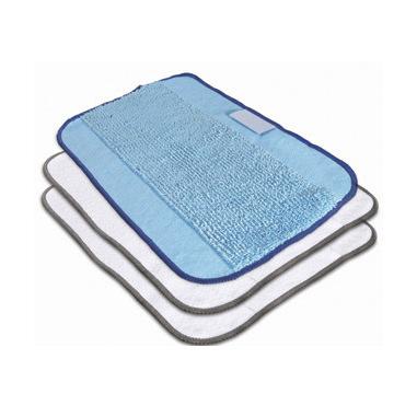 iRobot 4409705 Strofinaccio Microfibra Blu, Bianco 3 pz