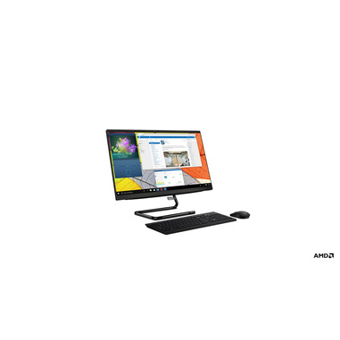 "Lenovo IdeaCentre AIO 3 54,6 cm (21.5"") 1920 x 1080 Pixel AMD Athlon Silver 8 GB DDR4-SDRAM 256 GB SSD Windows 10 Home Wi-Fi 5 (802.11ac) PC All-in-one Nero"