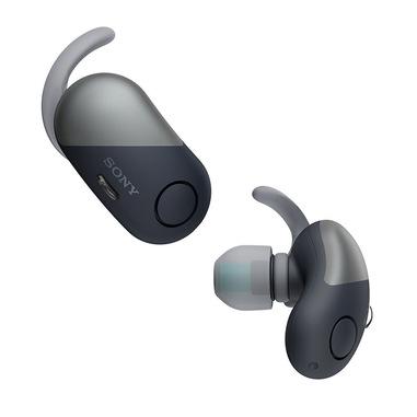Sony WFSP700NB cuffia e auricolare Aggancio, Auricolare Nero