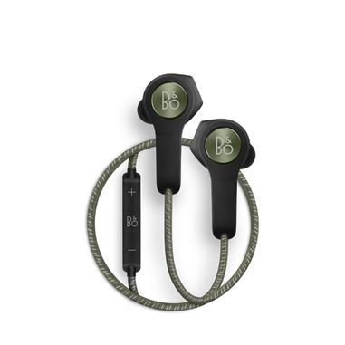 Bang & Olufsen Beoplay H5 Auricolare Stereofonico Senza fili Nero, Verde auricolare per telefono cellulare