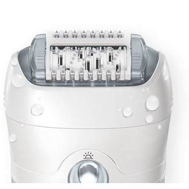 Braun Silk-Épil 7 7-561 Wet & Dry Epilatore senza Filo con 8 Accessori