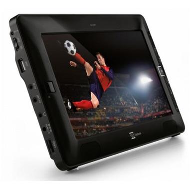 """TELE System TS09 T2HEVC TV portatile 22,9 cm (9"""") TFT 800 x 480 Pixel Nero"""