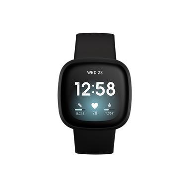 Fitbit Versa 3 40 mm AMOLED Nero GPS (satellitare)