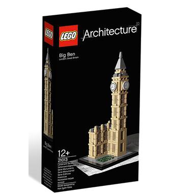 LEGO Architecture Big Ben Ragazzo/Ragazza 346pezzo(i) set per costruzioni