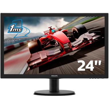 Philips Monitor LCD con SmartControl Lite 243V5LHSB/00