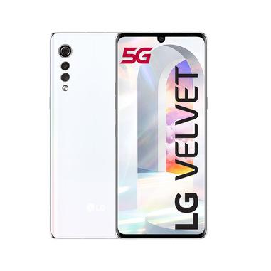 "LG Velvet 17,3 cm (6.8"") 6 GB 128 GB 5G USB tipo-C Bianco Android 10.0 4300 mAh"