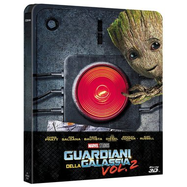 Guardiani della Galassia Volume 2, Blu-Ray 3D Blu-ray 3D Steelbox ITA