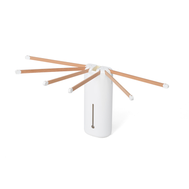 Foppapedretti Plus Asciugabucato con pinze a sospensione Bianco